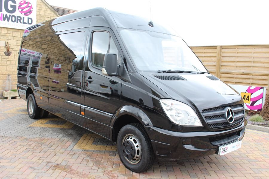 MERCEDES SPRINTER 511 CDI LWB HIGH ROOF TWIN REAR WHEEL 6 SEAT CREW VAN - 3246 - 1