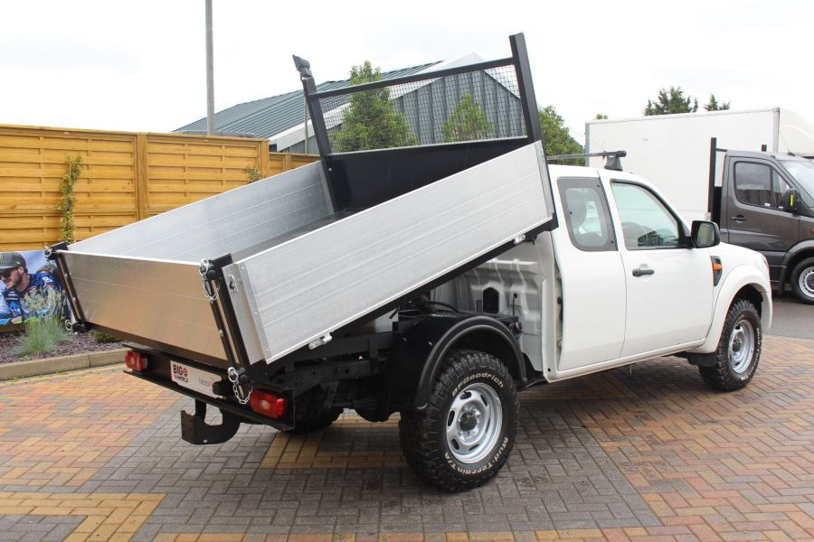 FORD RANGER XL 4X4 TDCI SUPER CAB ALLOY TIPPER - 6055 - 5