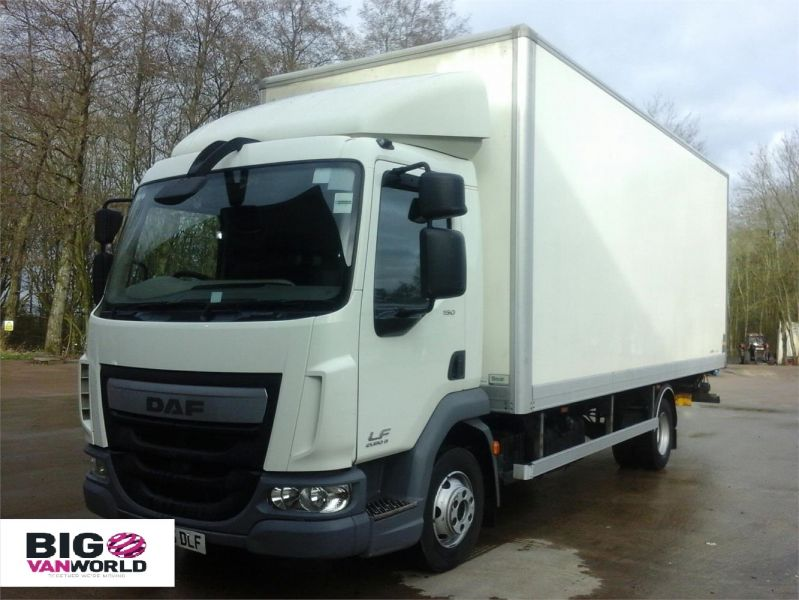 DAF TRUCKS LF LF 150 FA 20 FOOT BOX WITH TAIL LIFT  (13927) - 12205 - 6