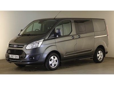 FORD TRANSIT CUSTOM 290 TDCI 170 L1H1 LIMITED DOUBLE CAB 5 SEAT CREW VAN SWB LOW ROOF - 12600 - 8