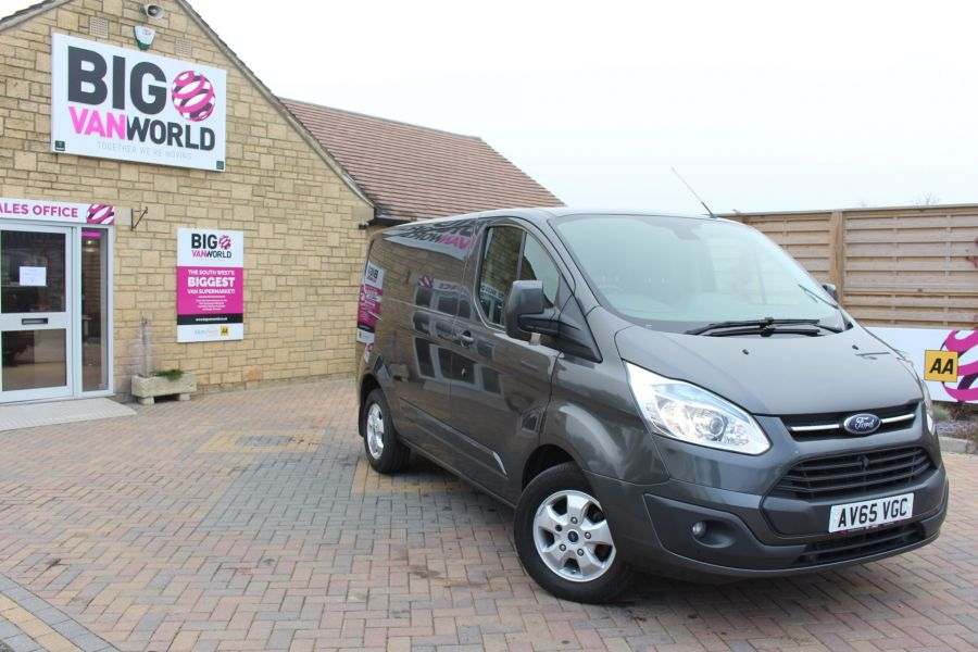 FORD TRANSIT CUSTOM 270 TDCI 125 L1 H1 LIMITED SWB LOW ROOF - 8050 - 2