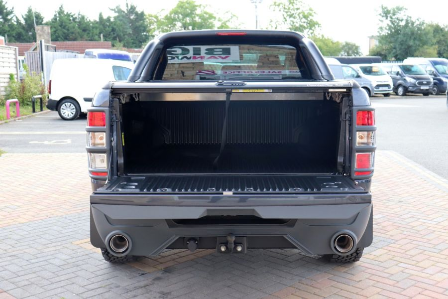 FORD RANGER TDCI 200 LIMITED EDITION 4X4 M-SPORT DOUBLE CAB WITH ROLL 'N' LOCK TOP - 9615 - 41