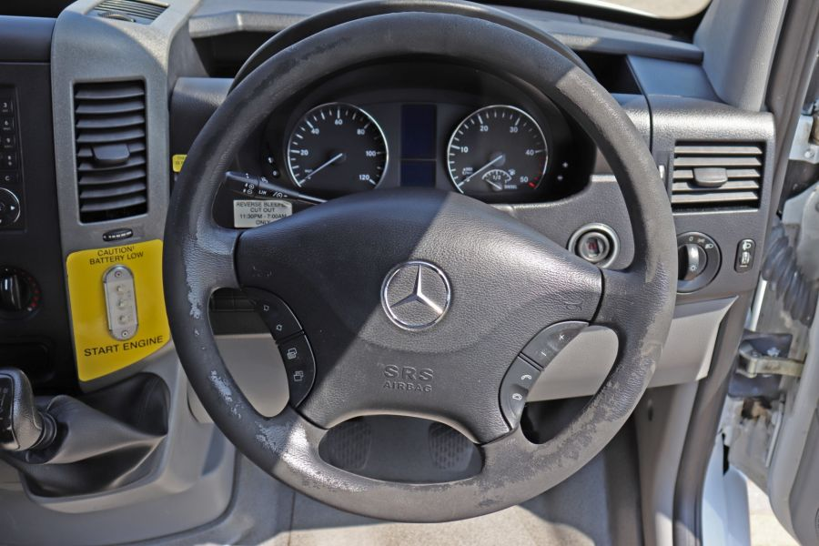 MERCEDES SPRINTER 513 CDI 129 XLWB EXTRA HIGH ROOF 15 SEAT BUS WITH WHEELCHAIR ACCESS - 9801 - 16