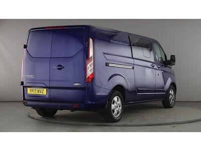 FORD TRANSIT CUSTOM 290 TDCI 130 L2H1 LIMITED DOUBLE CAB 6 SEAT CREW VAN LWB LOW ROOF - 11216 - 4