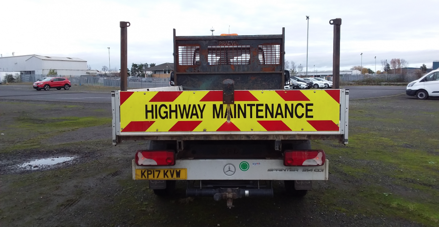 MERCEDES SPRINTER 314 CDI 140 MWB SINGLE CAB 'ONE STOP' ALLOY TIPPER  (13721) - 12170 - 5