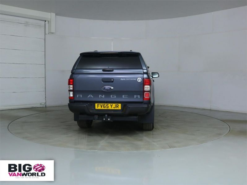 FORD RANGER WILDTRAK TDCI 4X4 DOUBLE CAB WITH TRUCKMAN TOP - 8962 - 4