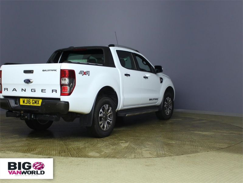 FORD RANGER WILDTRAK TDCI 197 4X4 DOUBLE CAB AUTO - 7637 - 2