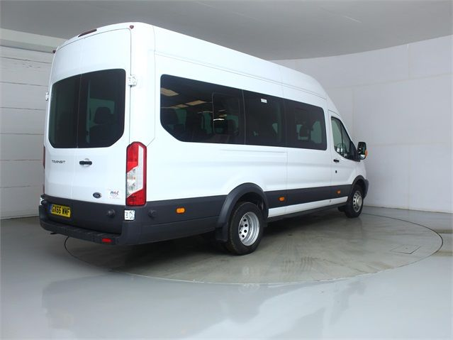 FORD TRANSIT 460 TDCI 125 L4 H3 TREND 17 SEAT BUS HIGH ROOF DRW RWD - 7579 - 2
