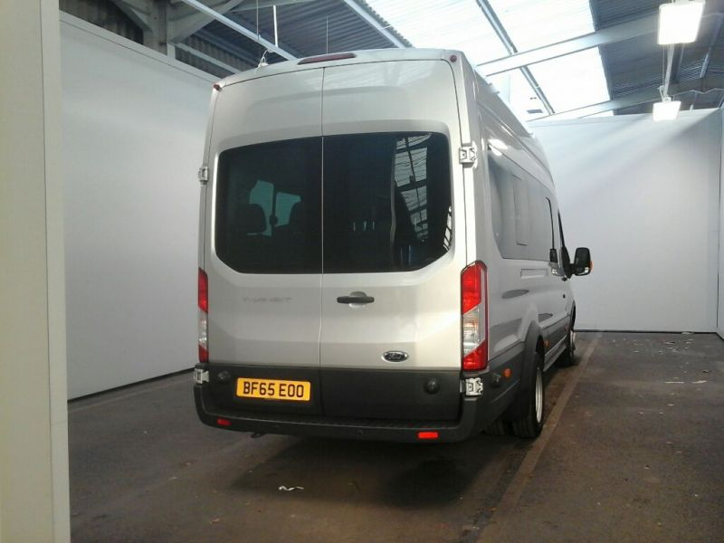 FORD TRANSIT 460 TDCI 155 L4 H3 TREND 17 SEAT BUS HIGH ROOF DRW RWD - 8604 - 3