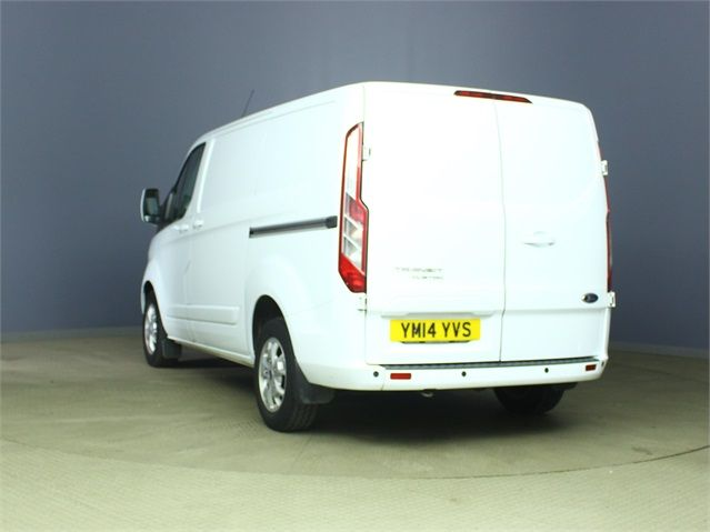 FORD TRANSIT CUSTOM 270 TDCI 125 LIMITED L1 H1 SWB LOW ROOF FWD - 6592 - 4
