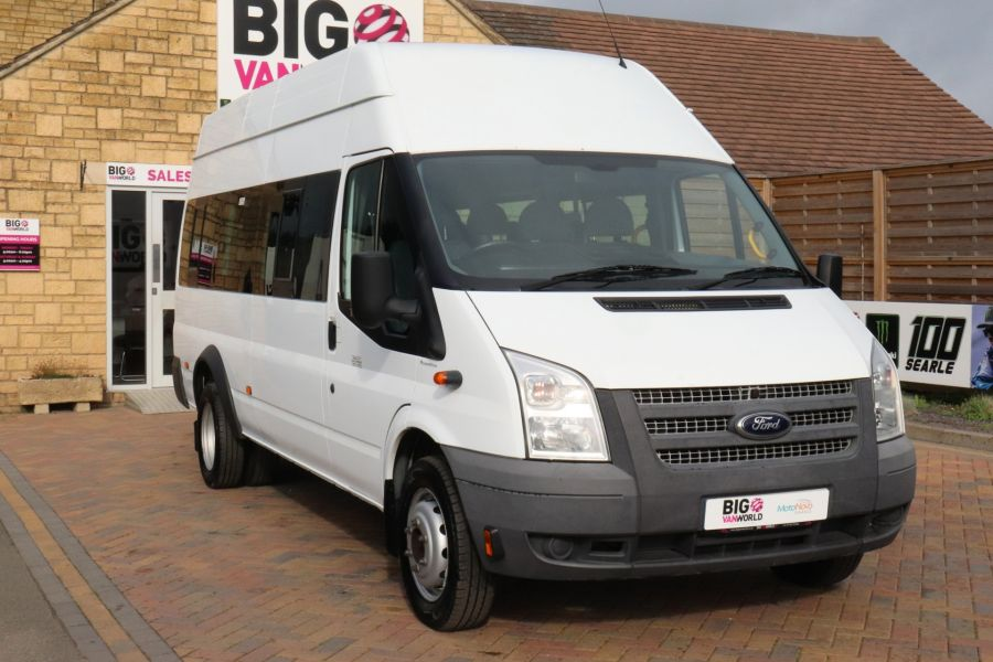 FORD TRANSIT 430 TDCI 135 EL LWB 17 SEAT BUS WITH WHEELCHAIR ACCESS HIGH ROOF DRW RWD - 9665 - 3