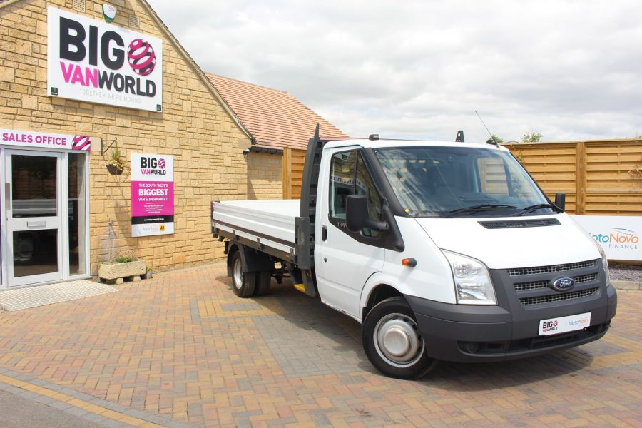 FORD TRANSIT 350 TDCI 155 LWB SINGLE CAB 'ONE STOP' 12FT 6IN ALLOY DROPSIDE RWD - 6220 - 1