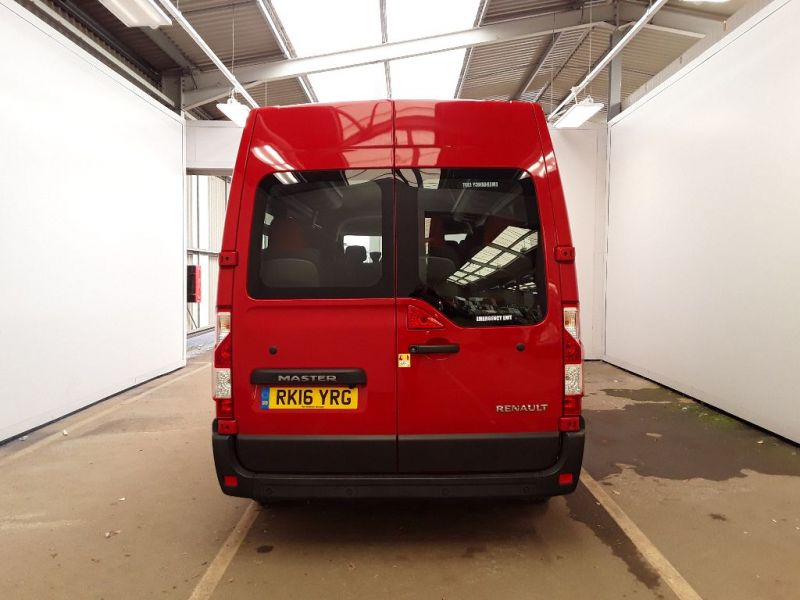 RENAULT MASTER LM39 DCI 165 BUSINESS ENERGY LWB 17 SEAT MINIBUS MEDIUM ROOF - 11353 - 4