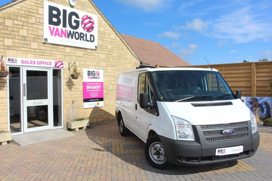 FORD TRANSIT 280 TDCI 125 SWB LOW ROOF FWD - 6451 - 1