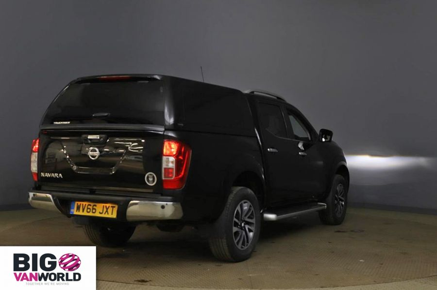 NISSAN NAVARA DCI 190 TEKNA 4X4 DOUBLE CAB WITH TRUCKMAN TOP - 11076 - 3
