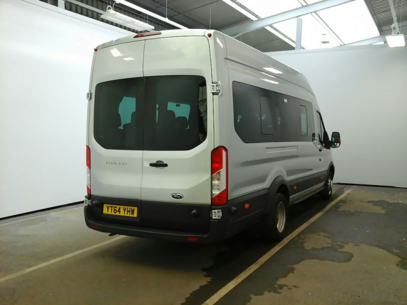 FORD TRANSIT 460 TDCI 155 L4H3 TREND 17 SEAT BUS HIGH ROOF DRW RWD - 9624 - 2