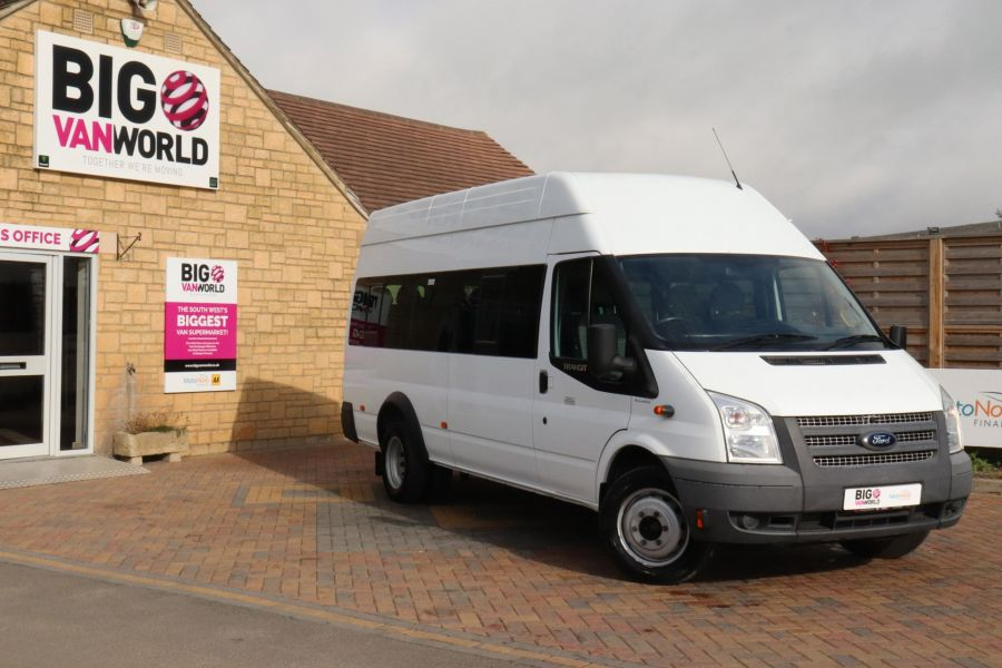FORD TRANSIT 430 TDCI 135 EL LWB 17 SEAT BUS WITH WHEELCHAIR ACCESS HIGH ROOF DRW RWD - 9665 - 1