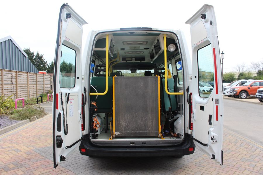 RENAULT TRUCKS MASTER LM35 DCI 100 L3 H2 9 SEAT PASSENGER TRANSPORT BUS AMBULANCE WITH WEELCHAIR ACCESS LWB MEDIUM ROOF - 9139 - 24