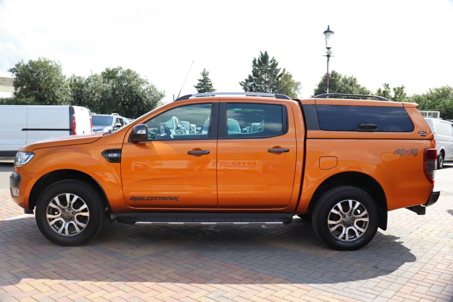 FORD RANGER WILDTRAK TDCI 200 4X4 DOUBLE CAB WITH TRUCKMAN TOP - 9538 - 8