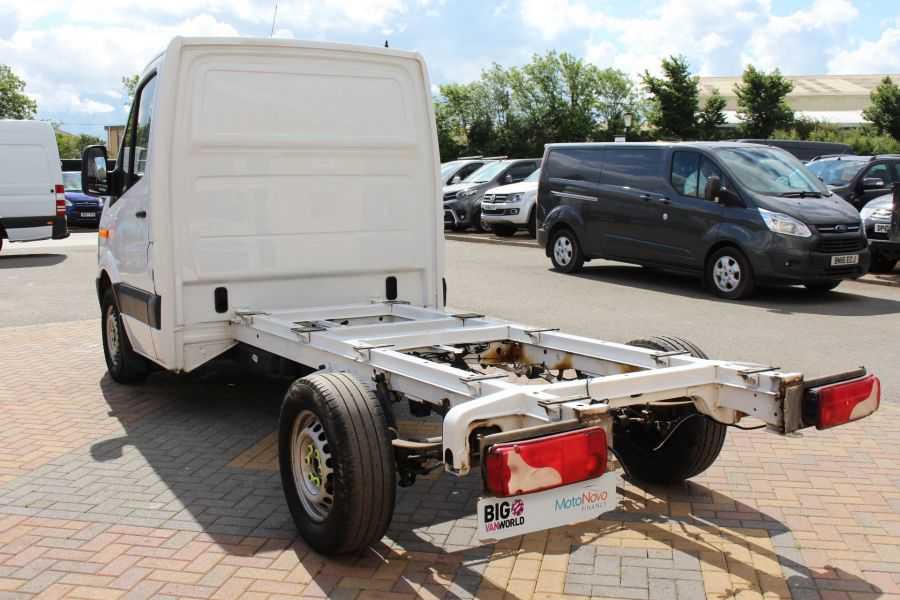 MERCEDES SPRINTER 313 CDI 129 MWB SINGLE CAB CHASSIS - 12092 - 9