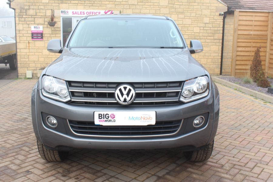 VOLKSWAGEN AMAROK TDI 180 HIGHLINE 4MOTION DOUBLE CAB WITH TRUCKMAN TOP AUTO - 6906 - 9