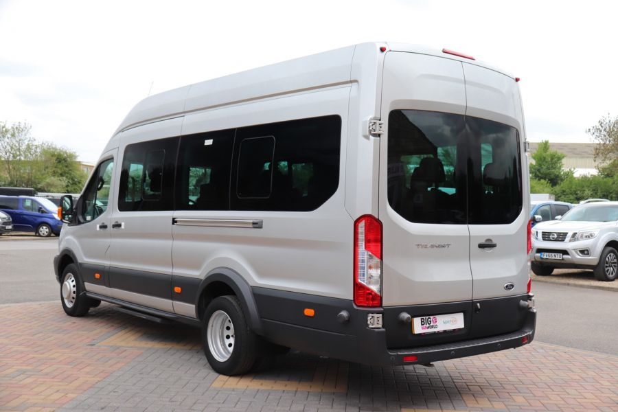 FORD TRANSIT 460 TDCI 155 L4H3 TREND 17 SEAT BUS HIGH ROOF DRW RWD - 11641 - 10