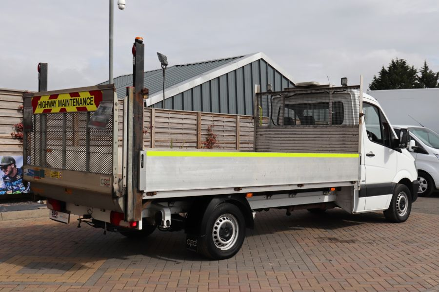 MERCEDES SPRINTER 314 CDI 140 LWB SINGLE CAB ALLOY DROPSIDE WITH TAIL LIFT  (14002) - 12361 - 8