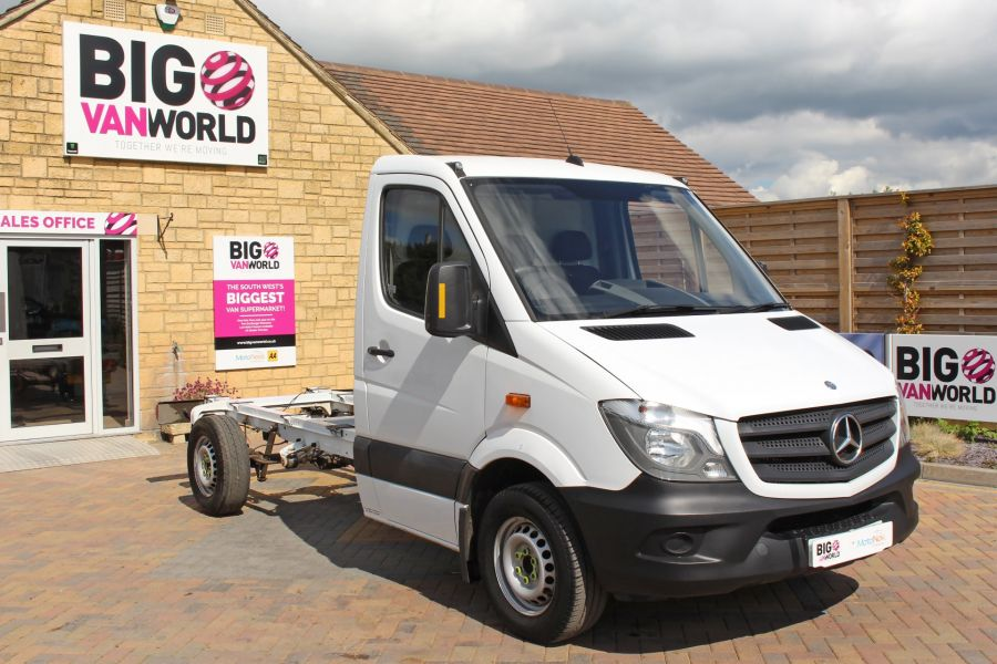 MERCEDES SPRINTER 313 CDI 129 MWB SINGLE CAB CHASSIS - 11014 - 3