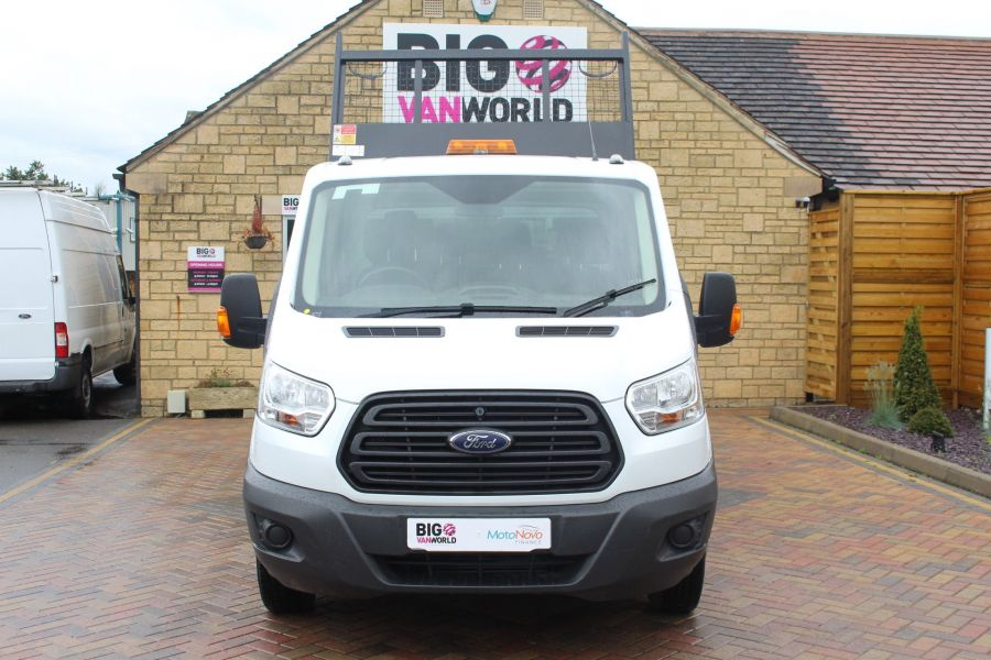 FORD TRANSIT 350 TDCI 125 L3 DOUBLE CAB STEEL TIPPER DRW - 6192 - 7