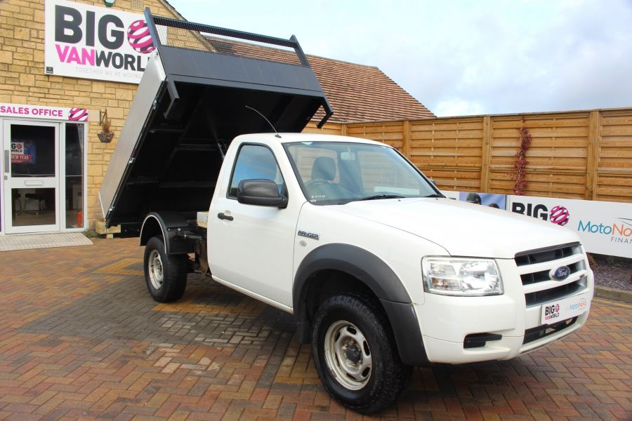 FORD RANGER 4X4 TDCI REGULAR CAB ALLOY TIPPER - 7054 - 3