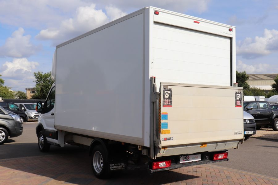 FORD TRANSIT 350 TDCI 170 L4 'ONE STOP' LUTON WITH TAIL LIFT DRW RWD  - 9531 - 7