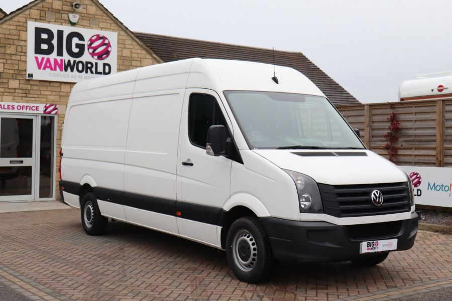 VOLKSWAGEN CRAFTER CR35 TDI 140 BMT LWB HIGH ROOF - 10447 - 2