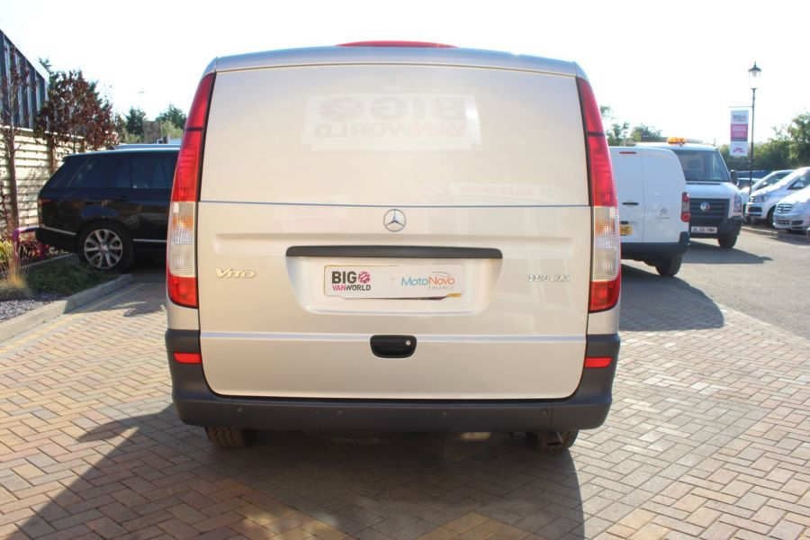 MERCEDES VITO 113 CDI BLUEEFFICIENCY LWB LOW ROOF - 5382 - 6