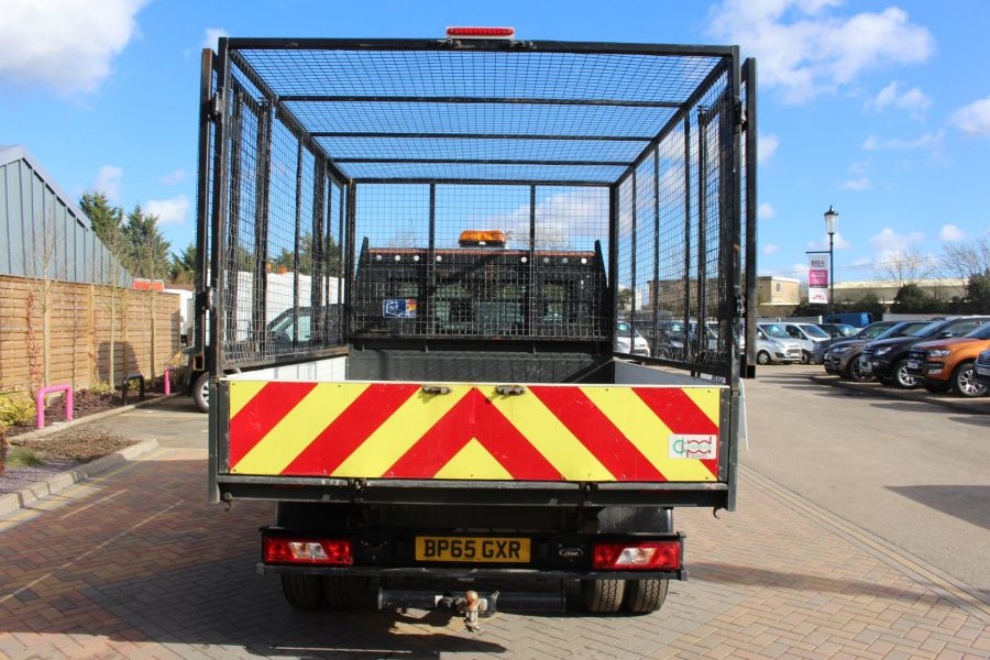 FORD TRANSIT 350 TDCI 125 SINGLE CAB 'ONE STOP' CAGED TIPPER DRW RWD - 7297 - 13
