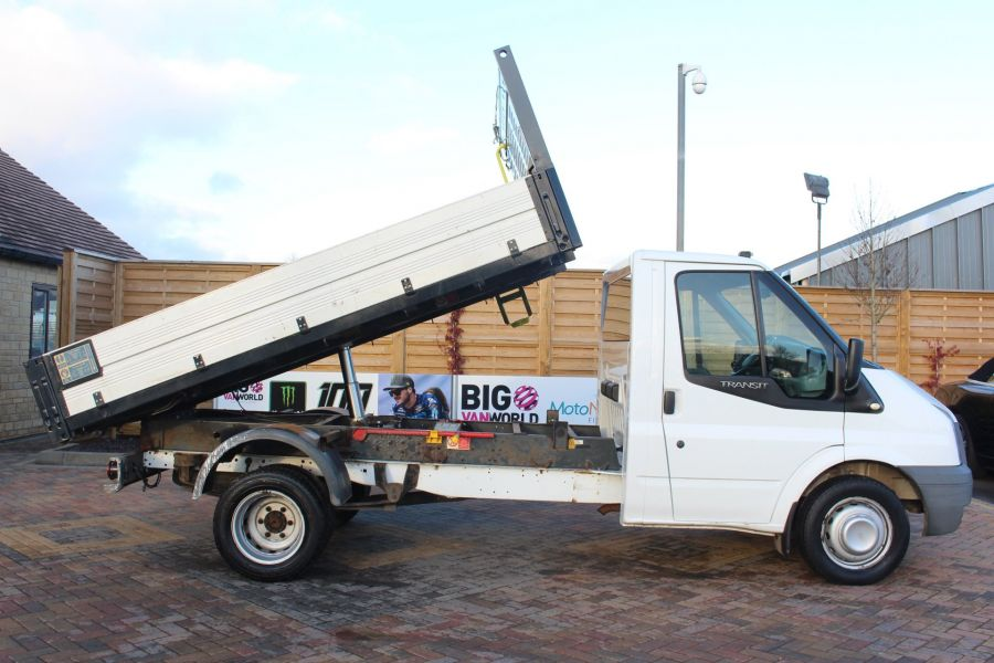 FORD TRANSIT 350 TDCI 100 MWB 'ONE STOP' ALLOY TIPPER DRW RWD - 6726 - 4