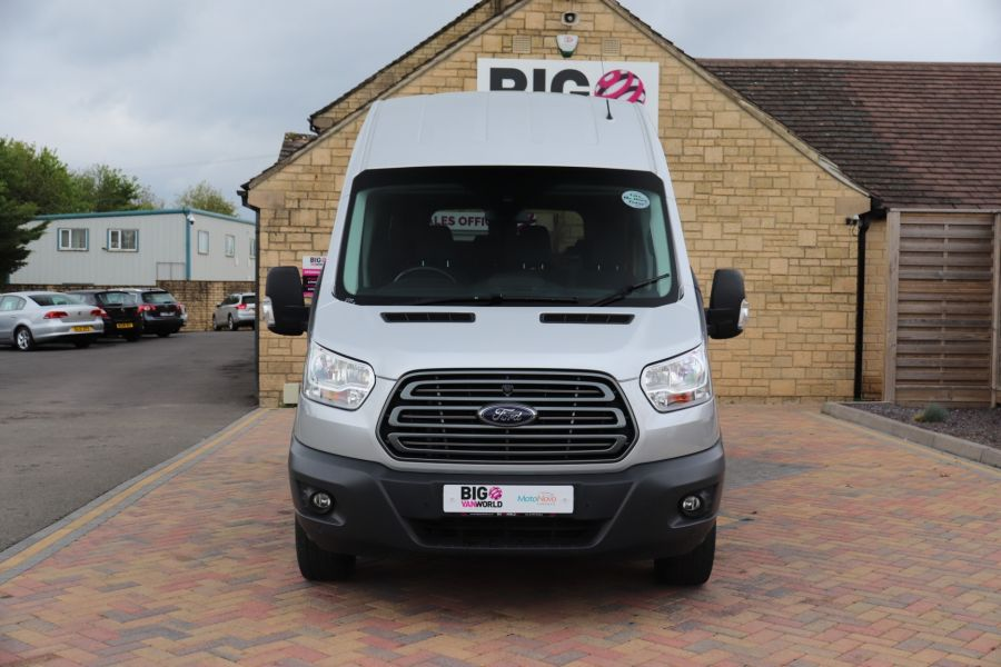FORD TRANSIT 410 TDCI 155 L3 H3 TREND 15 SEAT BUS LWB HIGH ROOF RWD - 9126 - 11