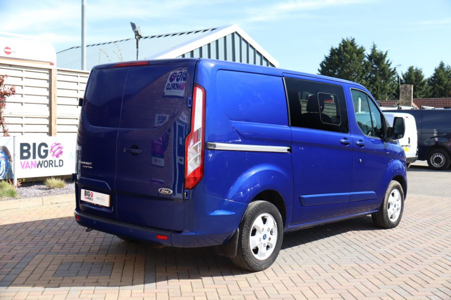 FORD TRANSIT CUSTOM 310 TDCI 130 L1H1 LIMITED DOUBLE CAB 6 SEAT CREW VAN FWD - 10553 - 5