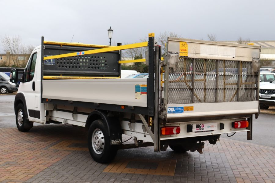 CITROEN RELAY 35 HEAVY HDI 150 ENTERPRISE L4 'ONE STOP' ALLOY DROPSIDE WITH TAIL LIFT - 10284 - 8