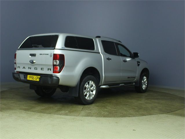 FORD RANGER WILDTRAK 4X4 TDCI 197 BHP DOUBLE CAB WITH TRUCKMAN TOP - 7203 - 2