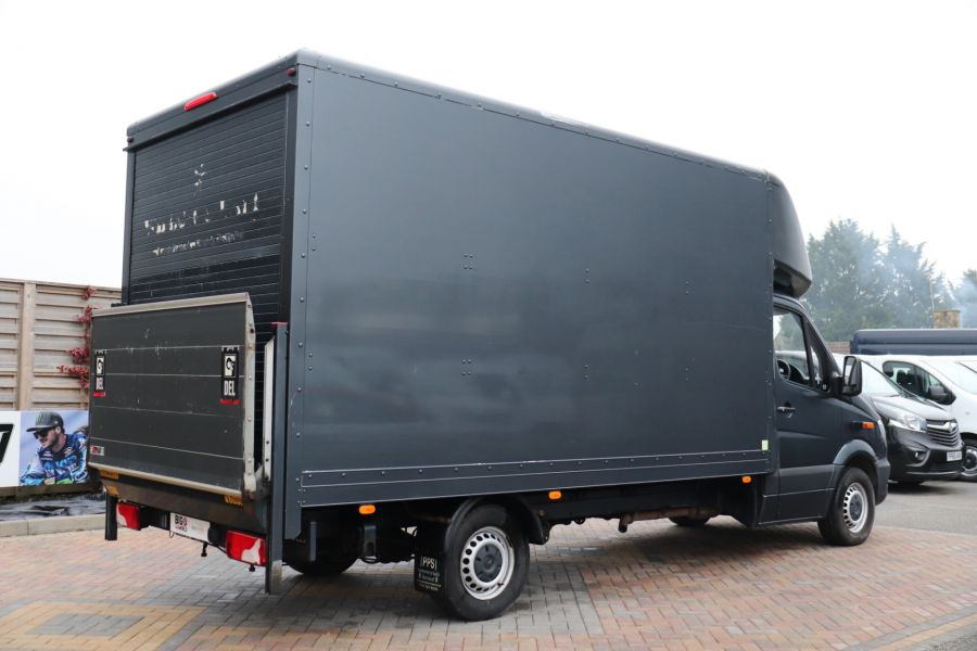 MERCEDES SPRINTER 314 CDI 140 LWB LUTON WITH TAIL LIFT - 11407 - 6