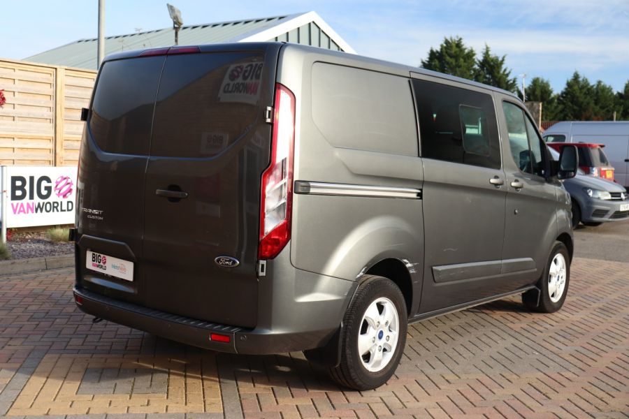 FORD TRANSIT CUSTOM 290 TDCI 130 L1H1 LIMITED DOUBLE CAB 6 SEAT CREW VAN SWB LOW ROOF - 10123 - 5