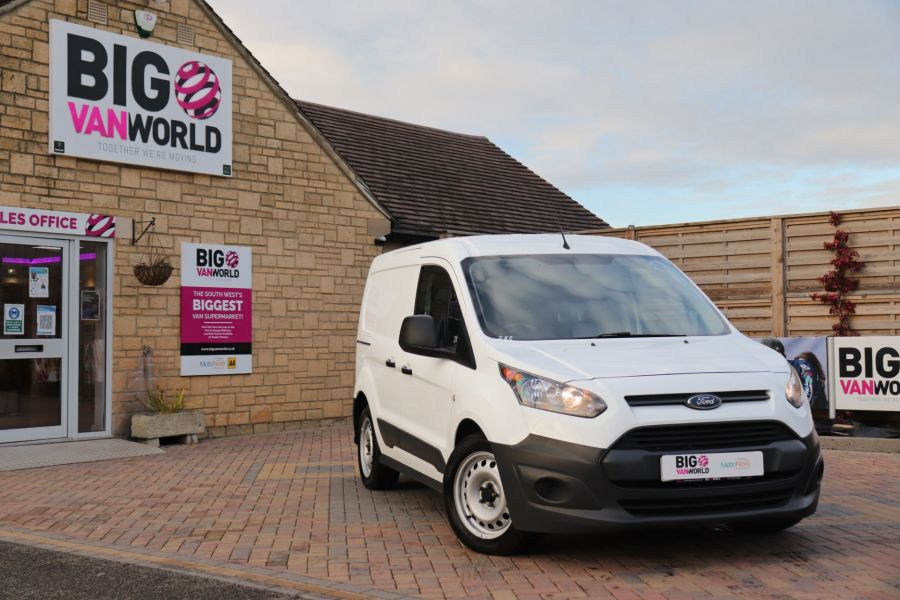 FORD TRANSIT CONNECT 220 TDCI 75 L1H1 DOUBLE CAB 5 SEAT CREW VAN SWB LOW ROOF - 11536 - 5