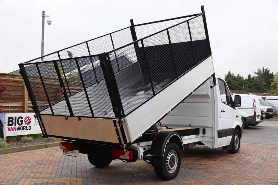 MERCEDES SPRINTER 313 CDI 129 MWB SINGLE CAB NEW BUILD CAGED TIPPER  - 10825 - 16