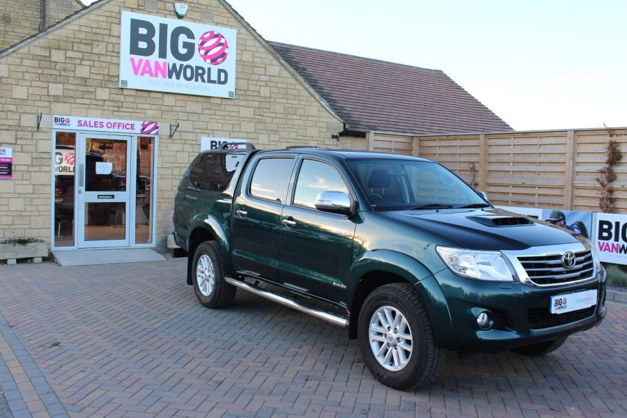 TOYOTA HI-LUX INVINCIBLE 4X4 D-4D 171 DOUBLE CAB WITH TRUCKMAN TOP - 8463 - 3