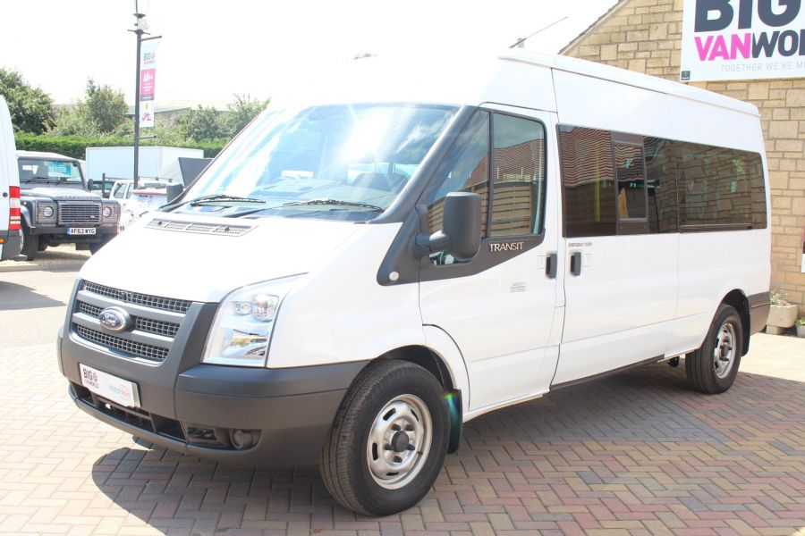 FORD TRANSIT 350 TDCI 135 LWB MEDIUM ROOF 14 SEAT BUS - 6413 - 8
