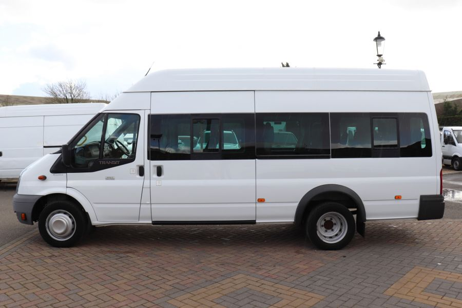 FORD TRANSIT 430 TDCI 135 EL LWB 17 SEAT BUS HIGH ROOF WITH WHEELCHAIR ACCESS RAMP DRW RWD - 10401 - 9