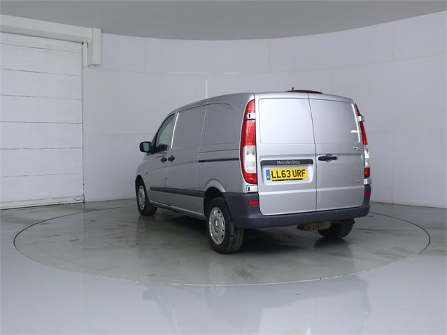 MERCEDES VITO 122 CDI 224 COMPACT SWB LOW ROOF - 7046 - 4