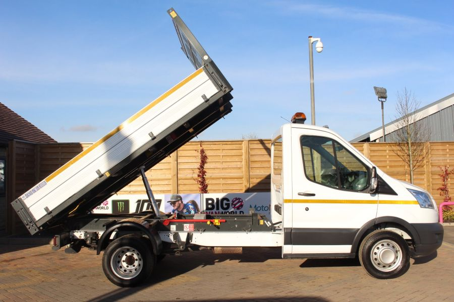 FORD TRANSIT 350 TDCI 125 SINGLE CAB 'ONE STOP' ALLOY TIPPER DRW - 7213 - 4