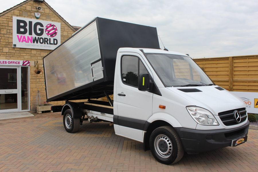 MERCEDES SPRINTER 313 CDI MWB NEW ALLOY ARBORIST TIPPER - 6031 - 2