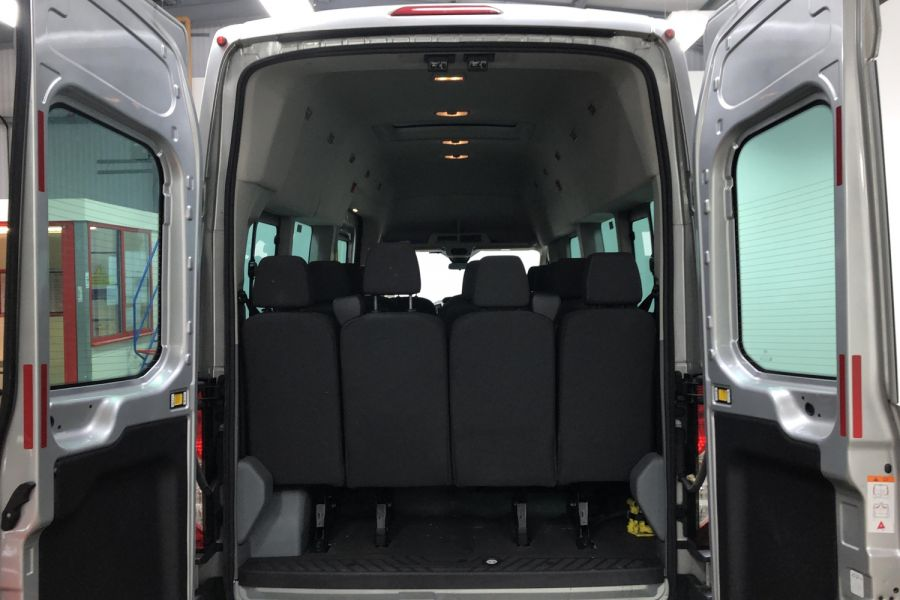 FORD TRANSIT 350 TDCI 155 L4H3 TREND 17 SEAT BUS HIGH ROOF DRW RWD  (13895) - 12177 - 15